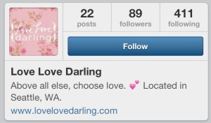 love love darling instagram